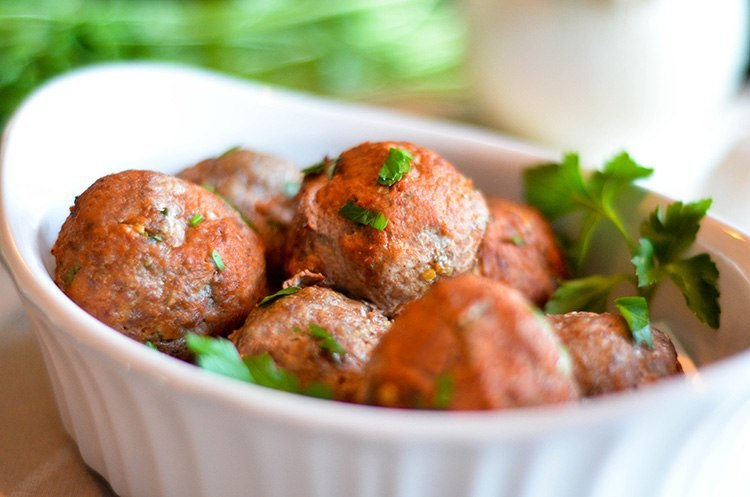 paleo gluten free meatballs