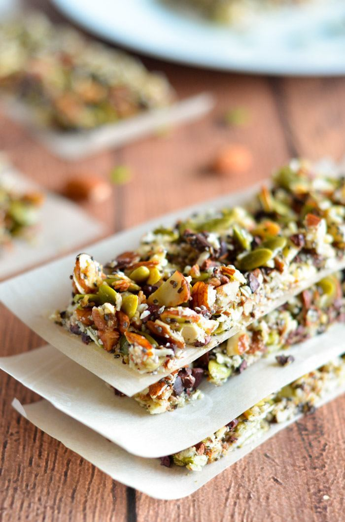 paleo energy granola bar