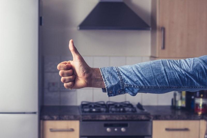 keep kitchen organized
